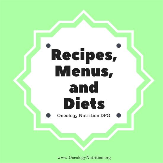 Recipes Menus And Diets